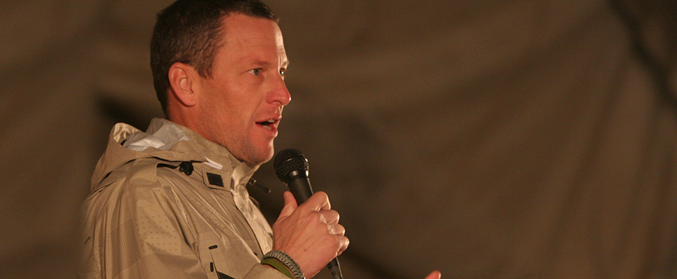 How is the life of Lance Armstrong after admitting his doping?