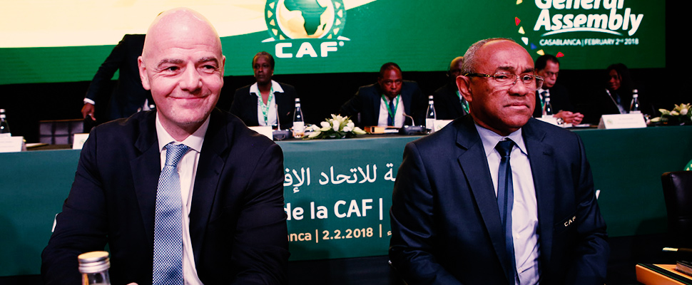 Why did Morocco protest against changes in FIFA criteria?