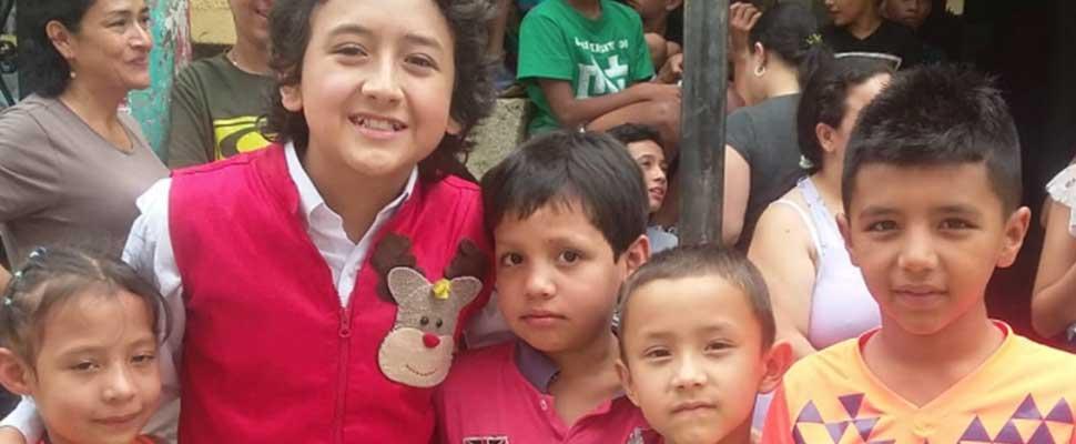 """""""Los niños no podemos cambiar el mundo, ya lo estamos haciendo"""": Michael Uribe"""