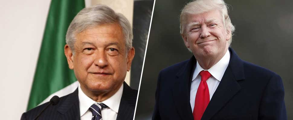 Image result for trump lopez obrador images
