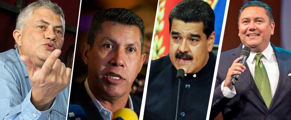 ¿Quiénes son los tres candidatos presidenciales que más suenan en Venezuela?