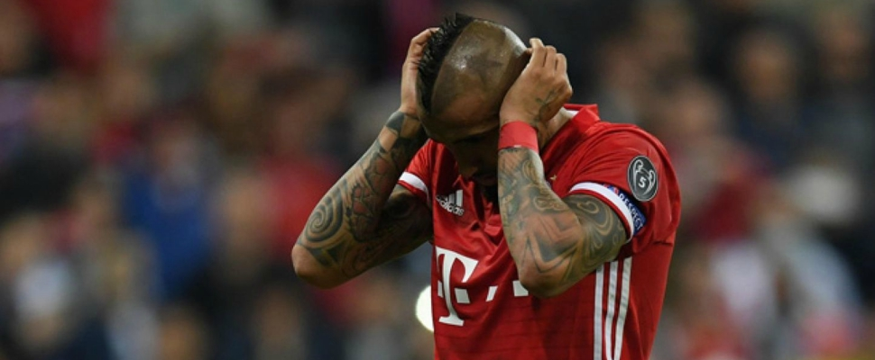 How did Arturo Vidal end one of the worst seasons of his career?
