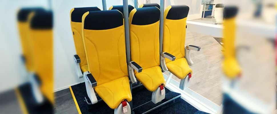 En los aviones del futuro, las rodillas se clavarán contra el respaldo del asiento de adelante