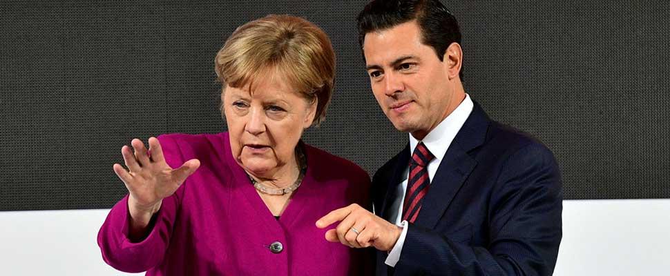 Así celebró Peña Nieto el nuevo tratado comercial entre México y la Unión Europea