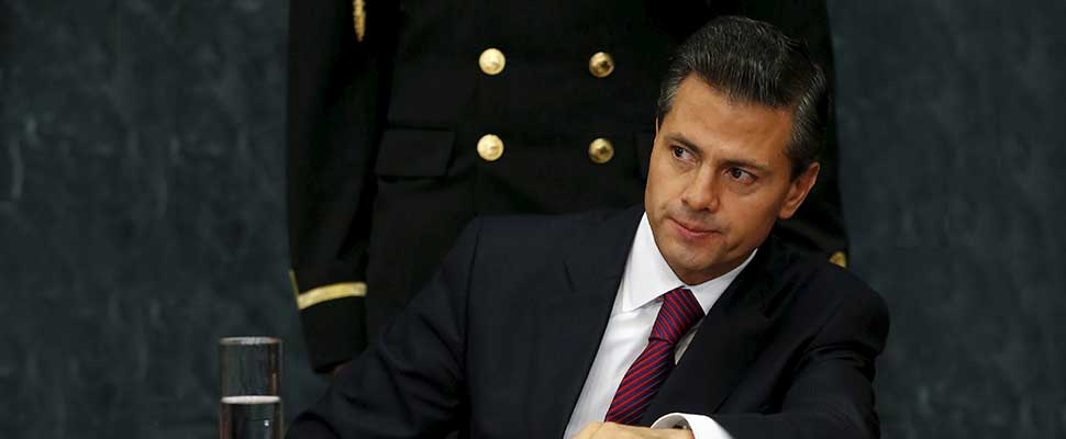 Will Peña Nieto be left without his protective blanket?