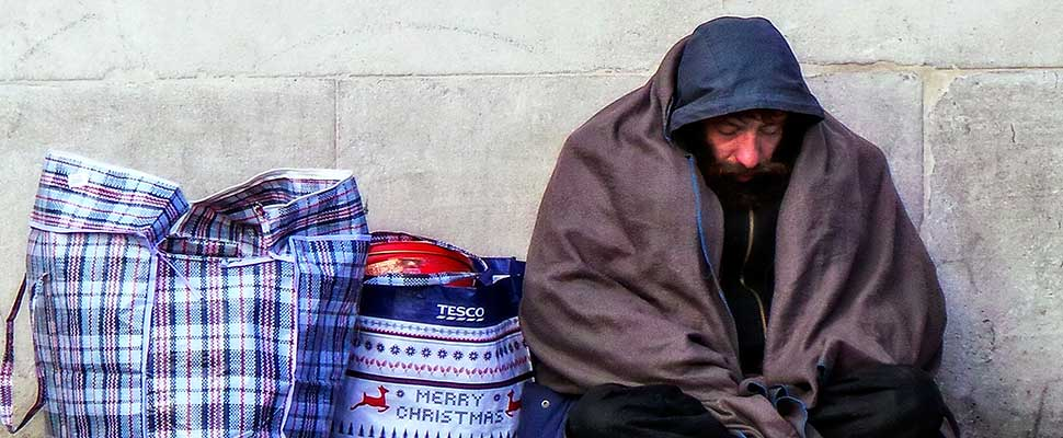 The drama of the homeless people in the UK: 78 died last winter