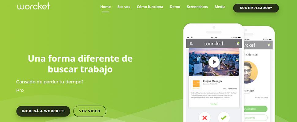 Worcket: Una app para conseguir empleo al estilo Tinder