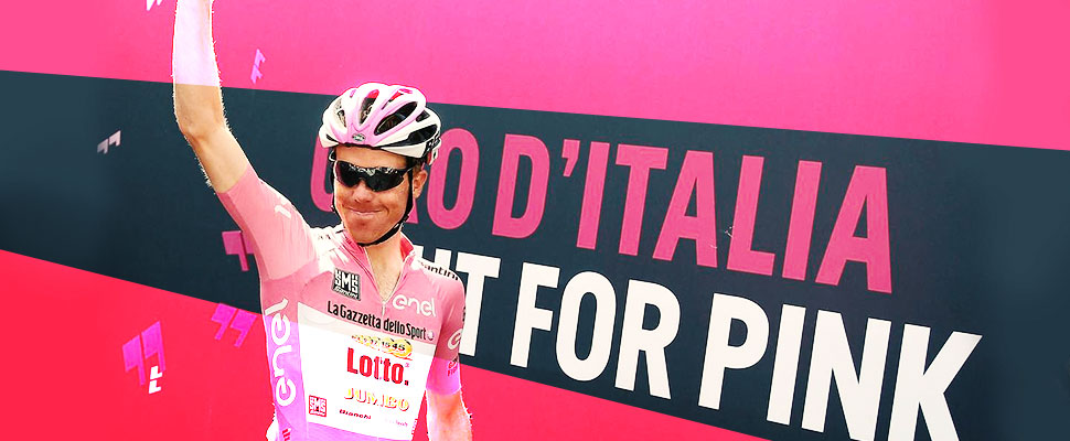 Why the leader of the Giro d'Italia dresses in pink?