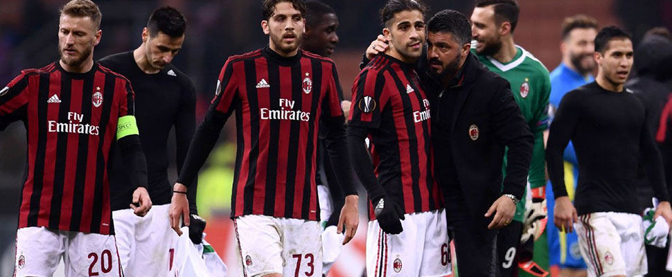 What are the 4 reasons that have led to A.C. Milan to its decline?