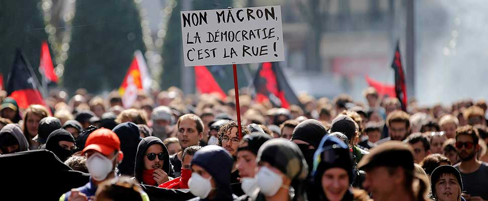 Macron loses the spark with his followers
