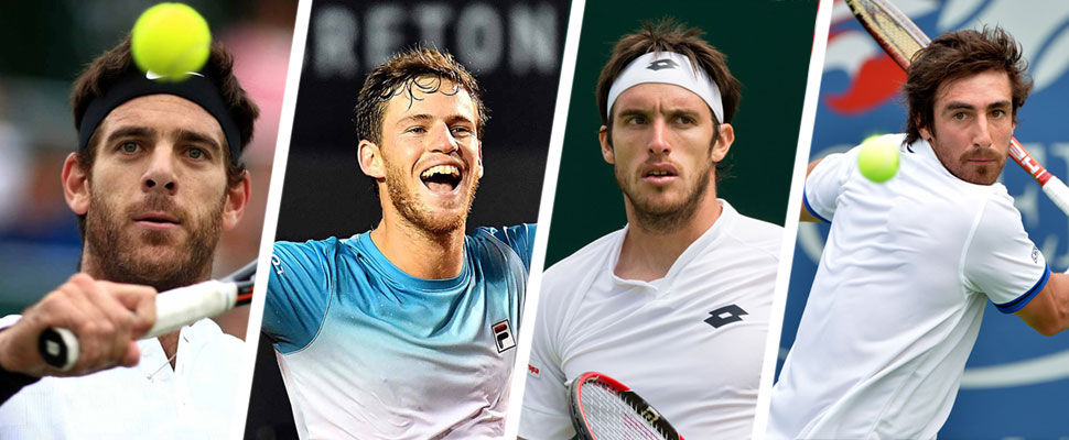 The best Latin American tennis players of the moment