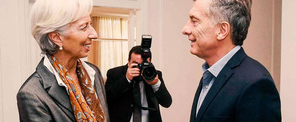Argentina se arrodilla nuevamente al FMI