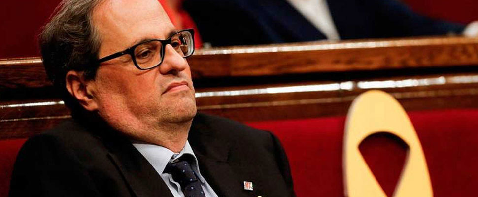 Quim Torra: the candidate for the Generalitat that causes uncertainty in Catalonia