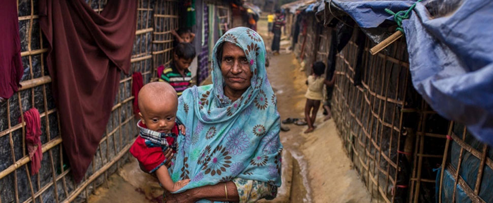 The tragedy of Rohingya women to give birth in Bangladesh