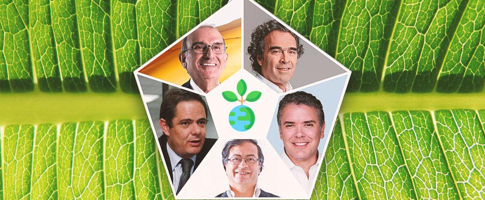 Colombia: Los candidatos a la Presidencia y el medio ambiente