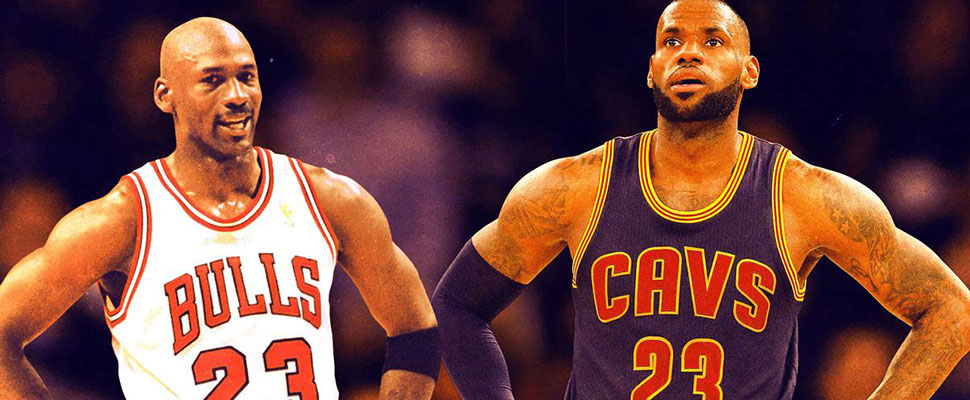 Open debate: LeBron James improves his numbers; is he better than Michael Jordan?