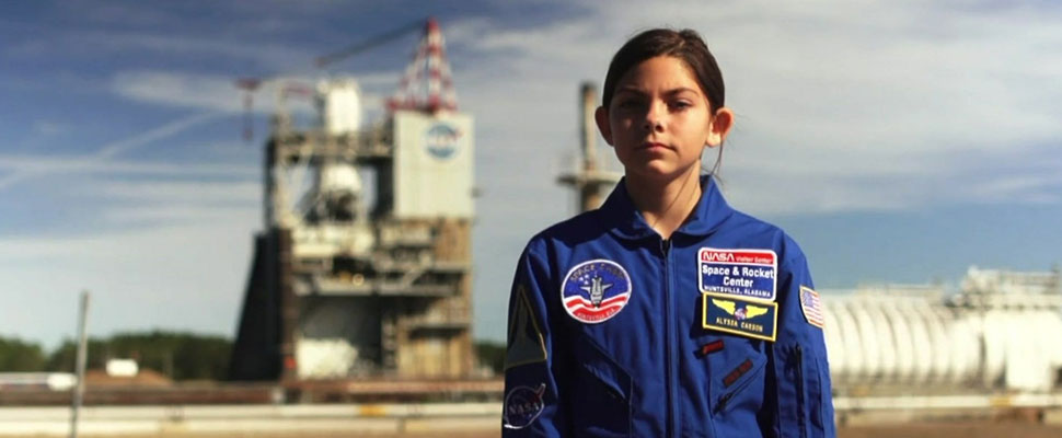 Meet the teen who trains to live on Mars