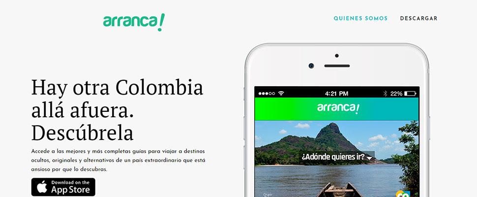 'Arranca': Una app para conocer los paraísos olvidados de Colombia