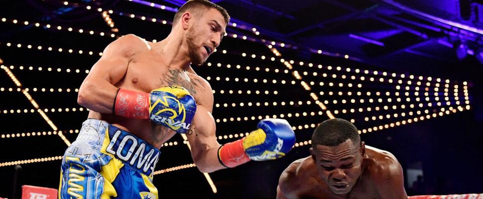 """El próximo gran atleta mundial, """"El nuevo Muhammad Ali"""", con ustedes: Vasyl Lomachenko"""