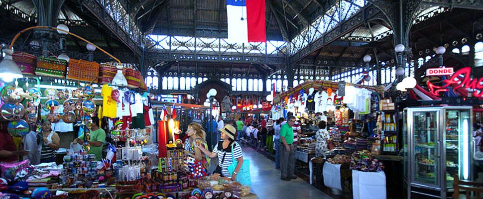 Mercado Central de Santiago de Chile
