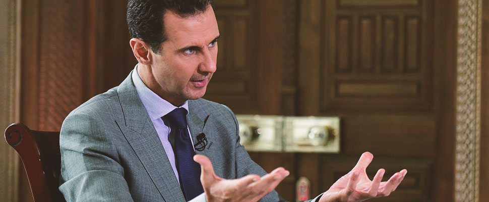 Damascus at the command of Syria: The government of Bashar al Assad regained control