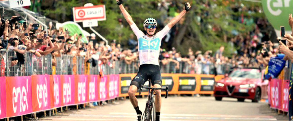 Tour of Italy: Chris Froome, the tamer of Cima Coppi