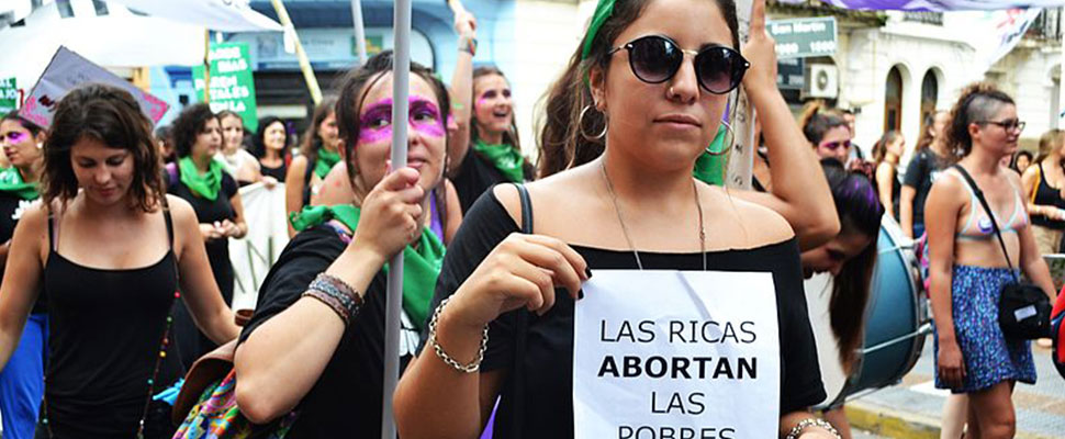 Latin America: The region with more abortions