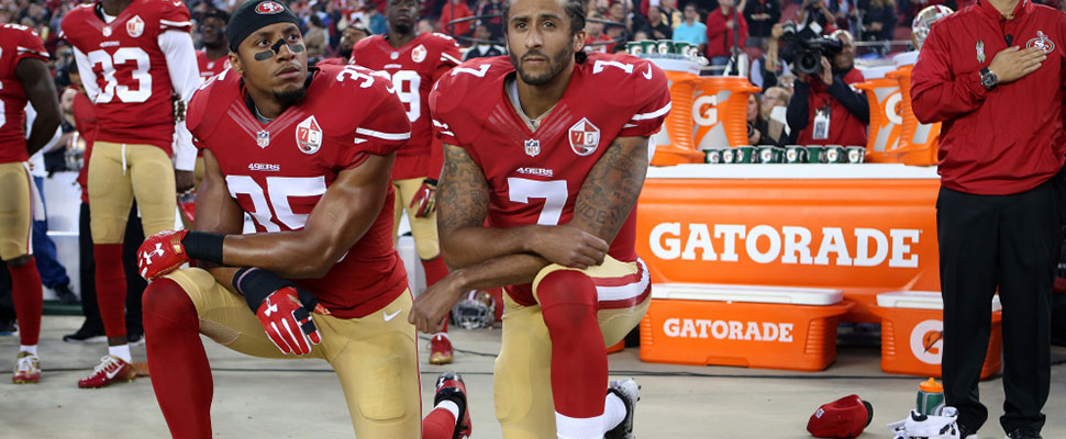 The controversial regulation of the NFL: not respecting the National Anthem will be sanctioned