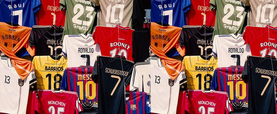 Camisetas de fútbol falsas: Así está el negocio a punto de iniciar el mundial