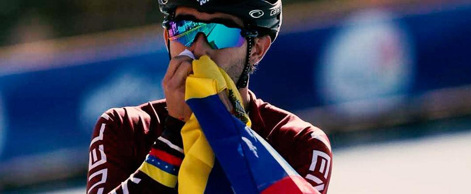 Sebastián Guzmán: el patinador que surgió en medio de la crisis de Venezuela