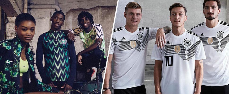 La moda de Rusia 2018: ¿cuáles son las mejores camisetas de la Copa del Mundo?