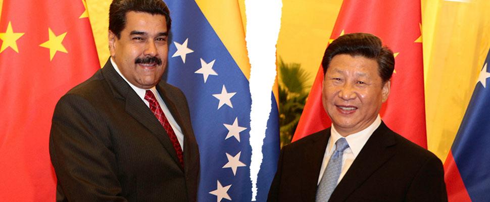 China closes the money tap to Venezuela