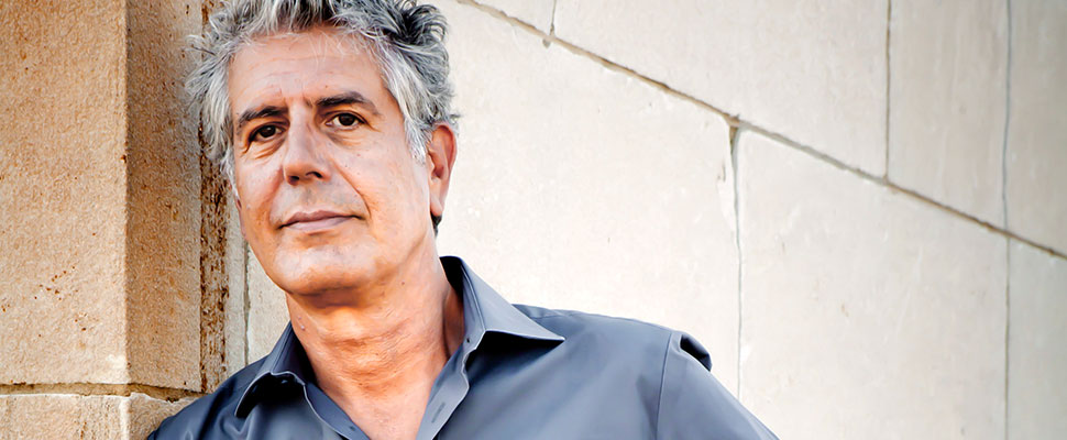 What did Anthony Bourdain eat during his visits to Latin America?