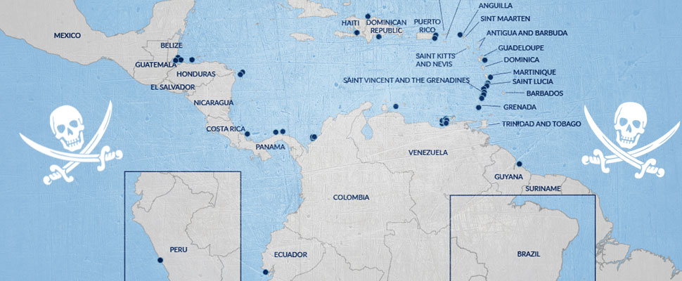Latin America and the Caribbean face the resurgence of maritime piracy