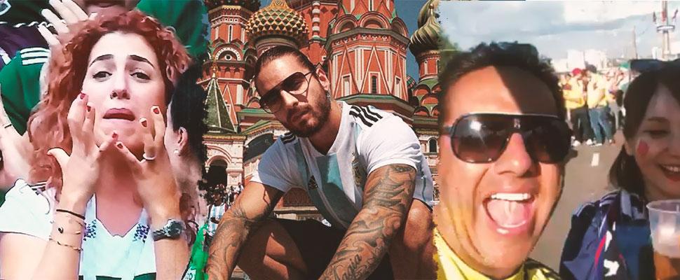 Los momentos virales de lo que va del Mundial de Rusia 2018