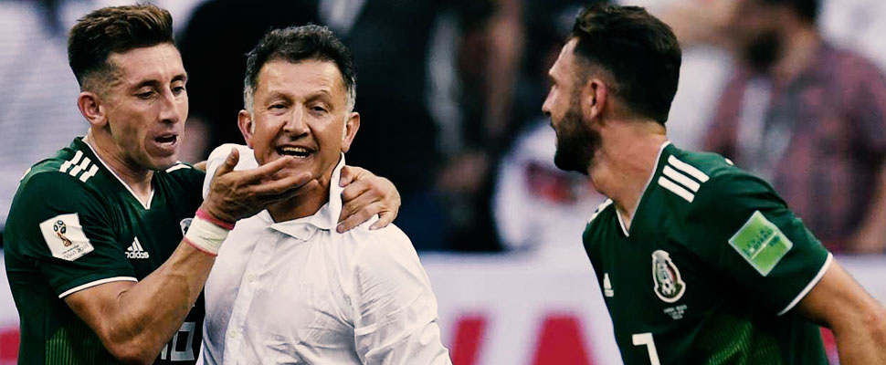 From hate to love? Juan Carlos Osorio, Mexico's new idol