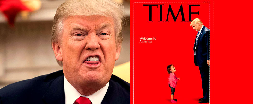 Trump vs. Time Magazine: the most recent battle in the war of fake news