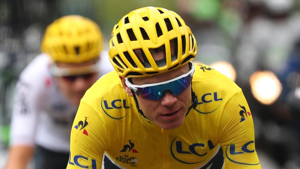 Froome absuelto por la UCI horas después de ser vetado del Tour de Francia
