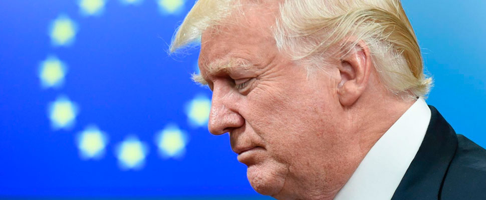 ¿Por qué Donald Trump causa revuelo durante su visita a Europa?