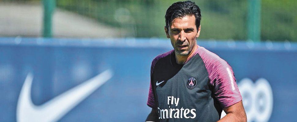 Gianluigi Buffon: The first time for an Italian goalkeeper in his forties