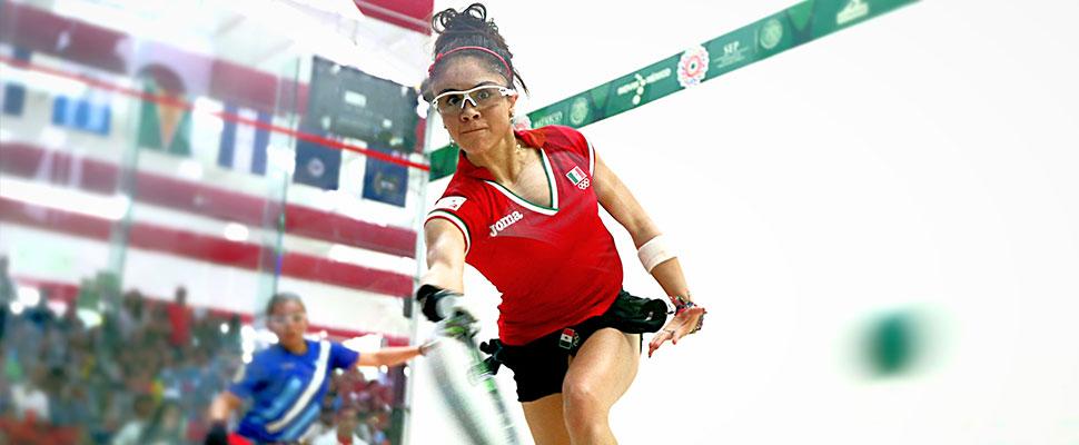 Paola Longoria: una de las grandes promesas de los Juegos Centroamericanos y del Caribe