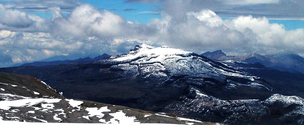 El lento pero constante declive de los glaciares en Colombia
