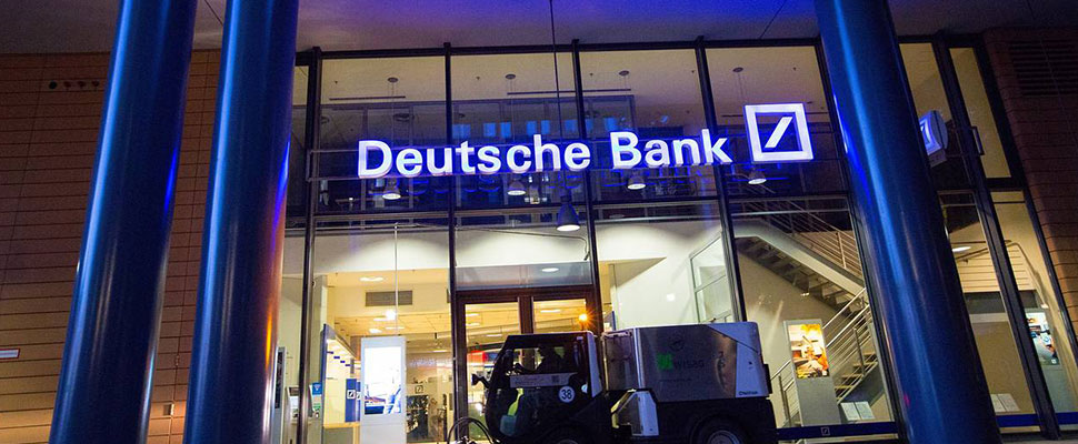 After two years, the Deutsche Bank presents the first positive results in the stock market