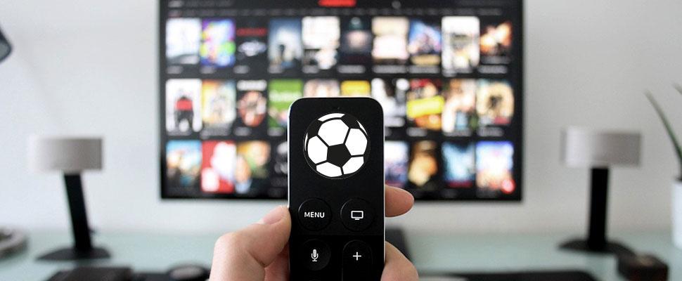 El fútbol, una pasión que se toma la pantalla chica