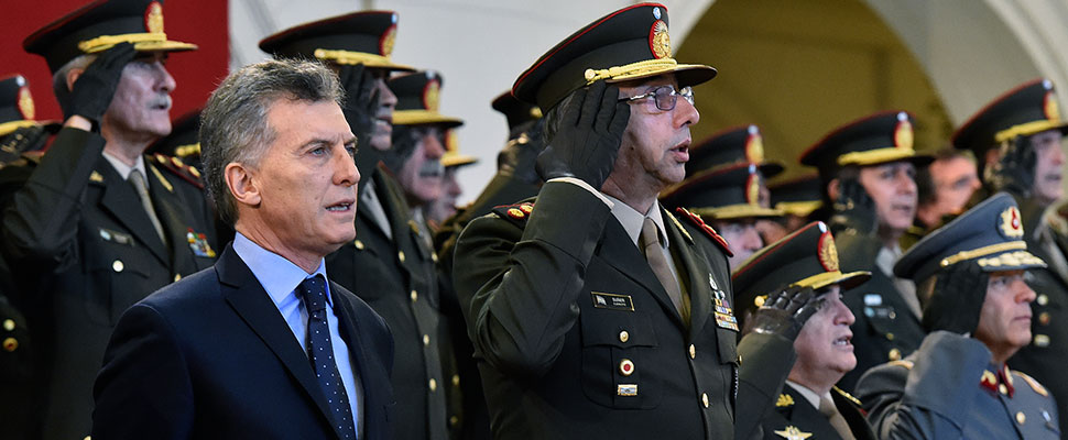 """The Argentine Armed Forces will face """"the challenges of the 21st century"""""""