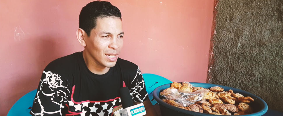 The story of Bismarck Alfaro: from talented boxer to 'pastry chef' in the streets