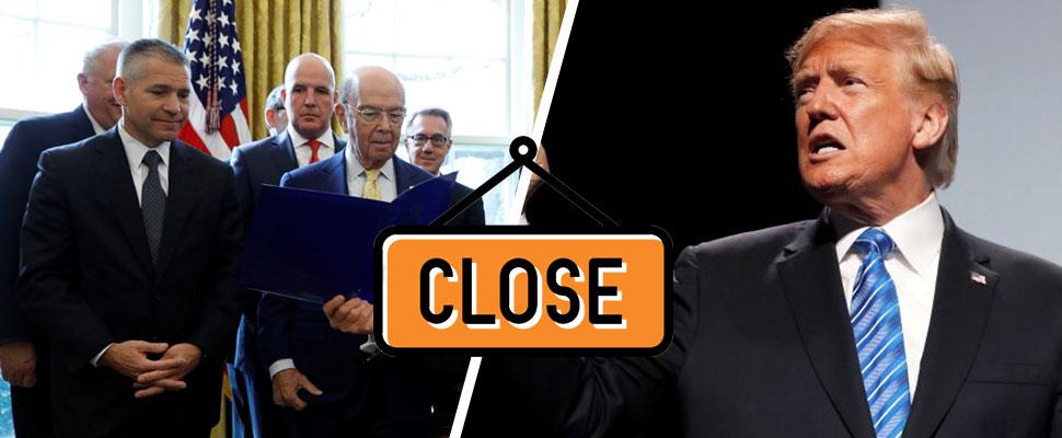 Así negocia Trump: cerraría el gobierno si no hay votos para seguridad fronteriza