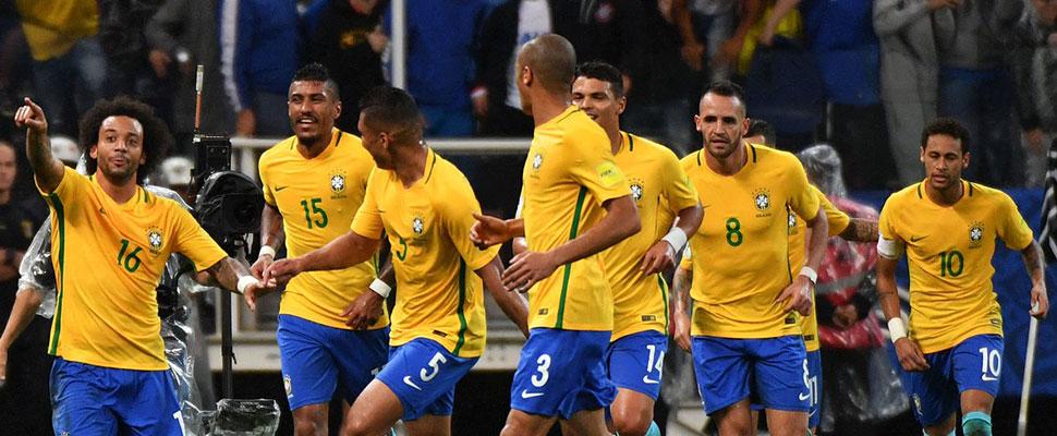 Brasil, el equipo favorito a ganar el Mundial de Fútbol Qatar 2022