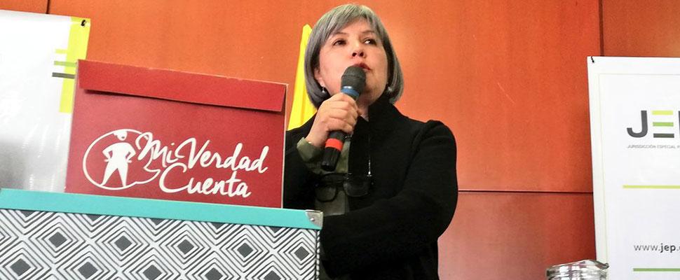Mujeres entregan oficialmente informes sobre casos de violencia sexual a la JEP