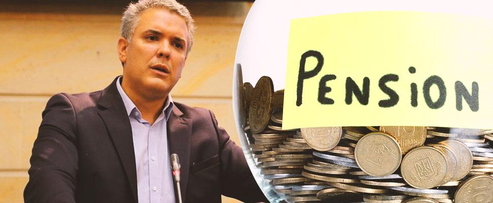 Lo que se sabe de la reforma pensional de Duque: no ataca el principal problema
